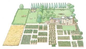 Cómo tener una granja autosuficiente en media hectárea