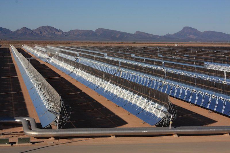 La termosolar española que hace funcionar los aires acondicionados de Arizona