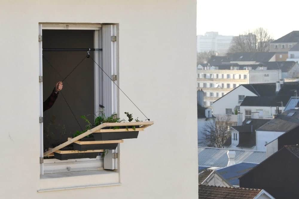 Huertos en ventanas