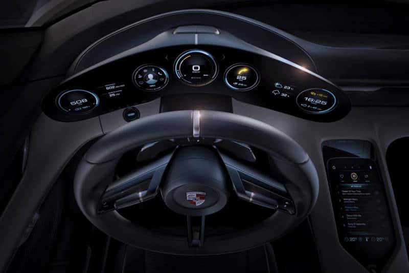 Porsche Mission E Concept detalles