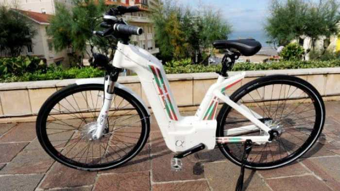 Alpha electric-powered bike, la primera bicicleta eléctrica de hidrógeno