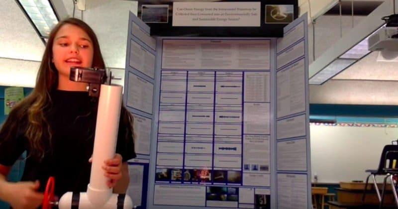 Científica de 15 años inventa dispositivo que convierte el movimiento del mar en energía