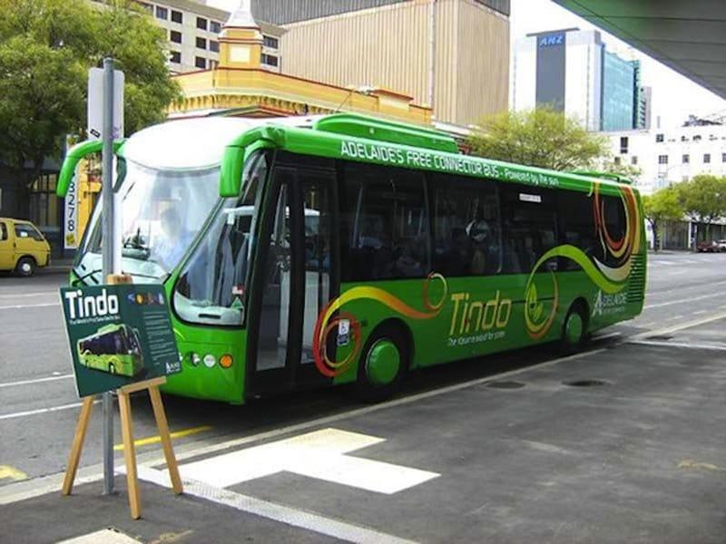 En Australia, autobús gratis gracias a la energía solar