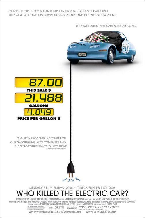 Quien mato al coche electrico