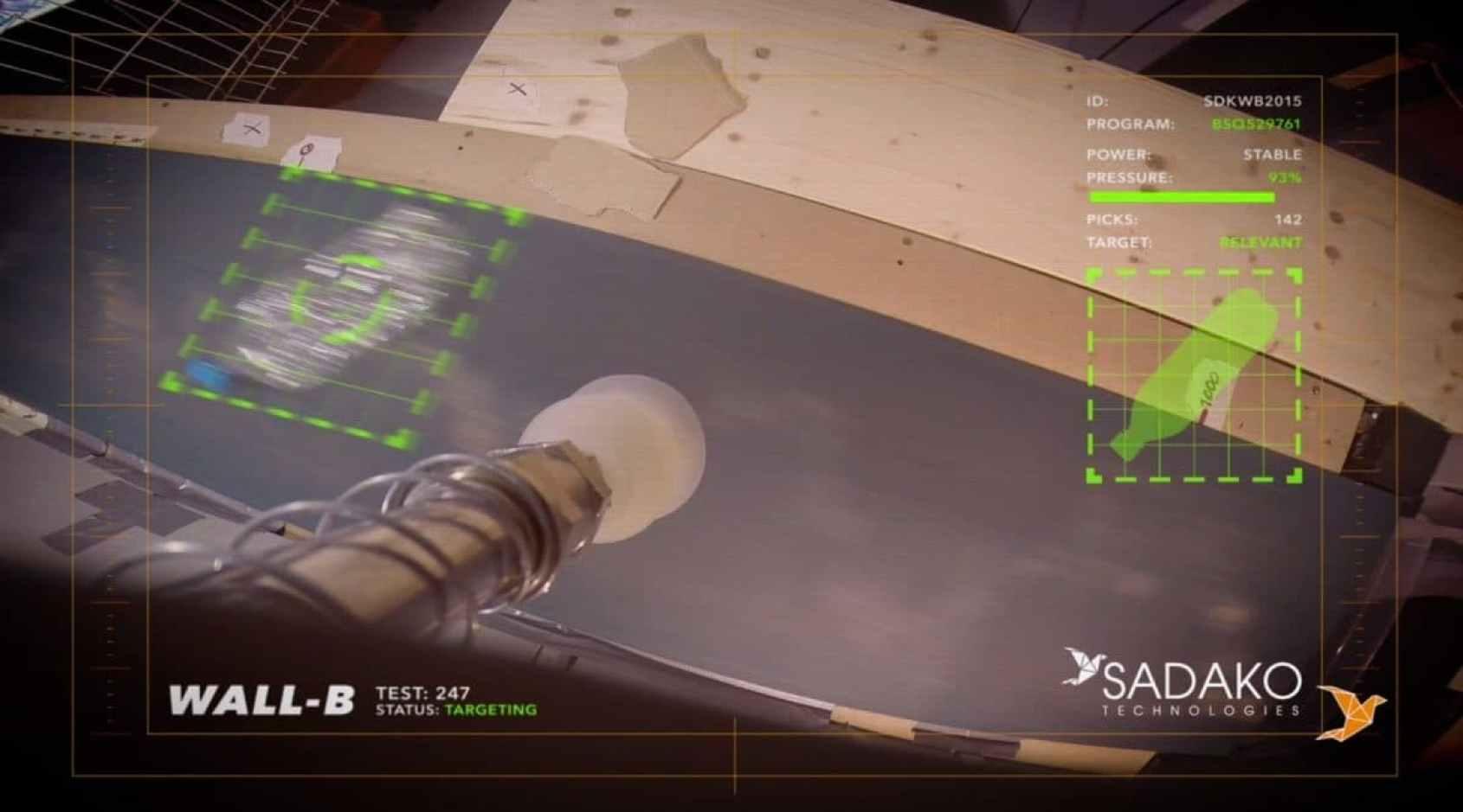 Wall-B, el robot que quiere revolucionar la industria del reciclaje