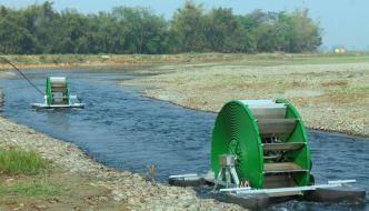 Bomba Barsha es capaz de bombear 45.000 litros de agua al día sin combustible