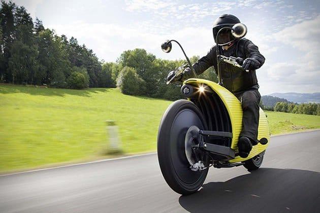 Johammer J1 – la moto eléctrica que recorre 200 km con una única carga