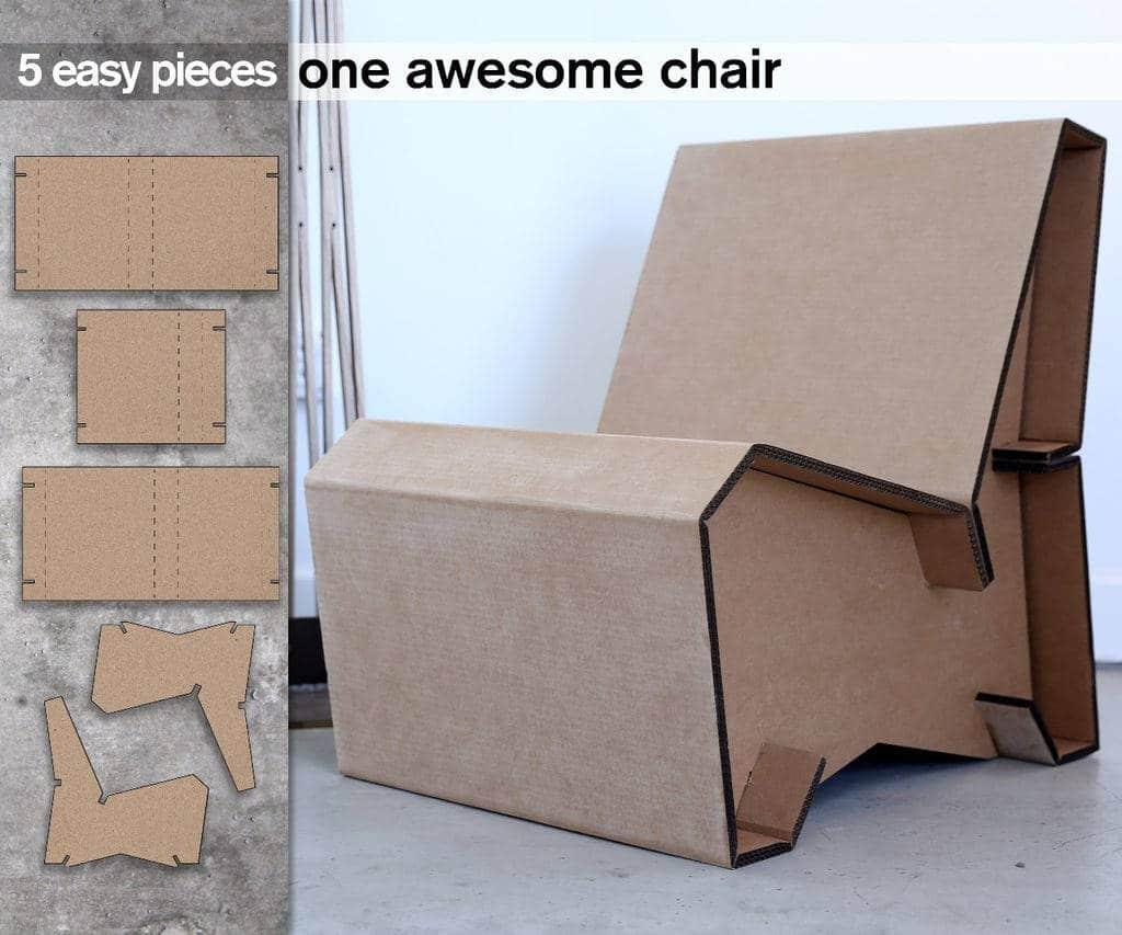 C mo hacer un sill n de cart n - Como hacer un sillon paso a paso ...