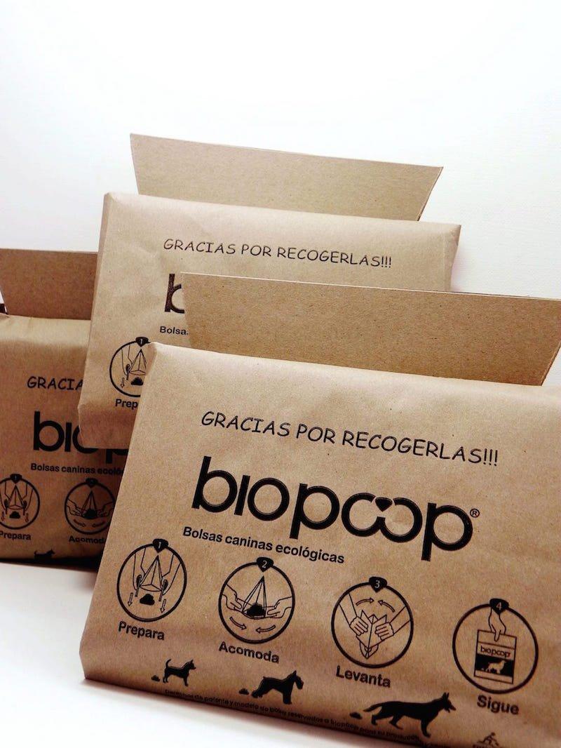 Biopoop bolsas caninas