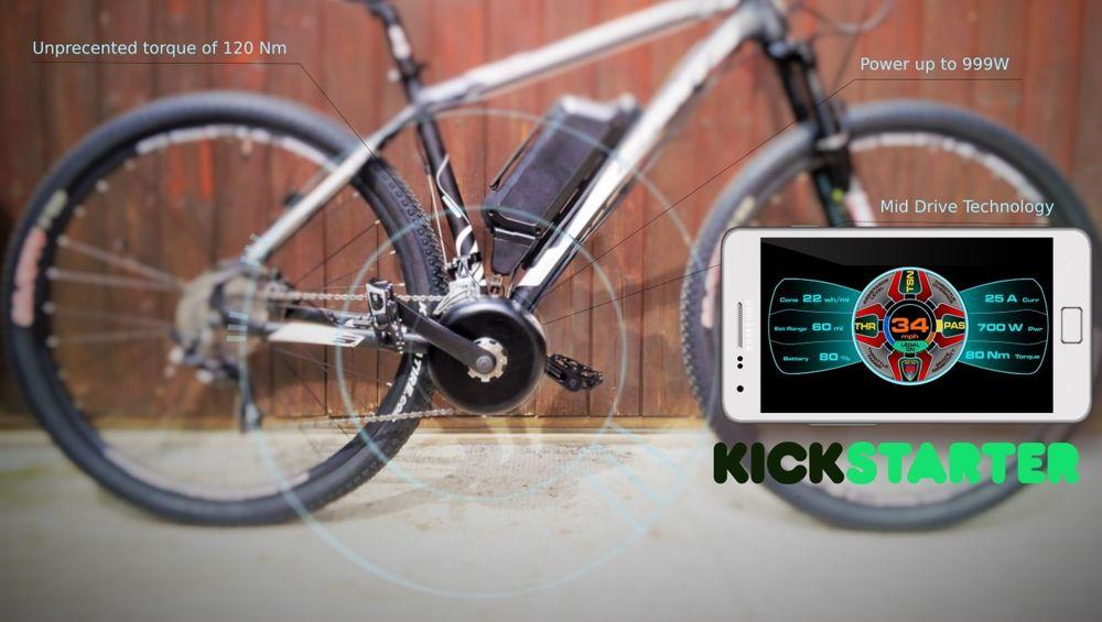Bikee Bike ebike - Kickstarter launch June 15th