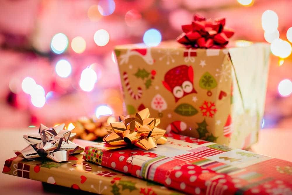 Regalos navideños de materiales reciclados