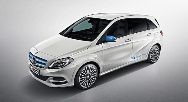 Los 10 coches m s eficientes para 2017 for Mercedes benz b250e