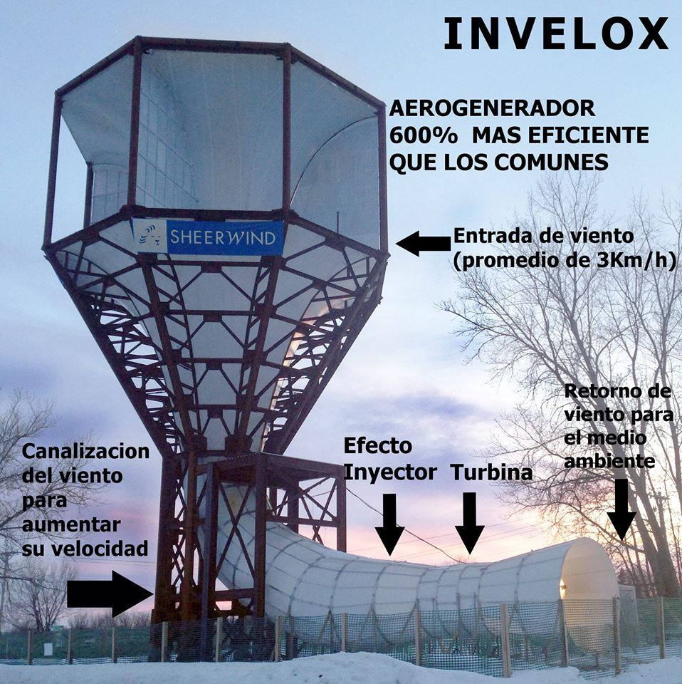 INVELOX una turbina eólica con base en forma de túnel A wind turbine based on a tunnel