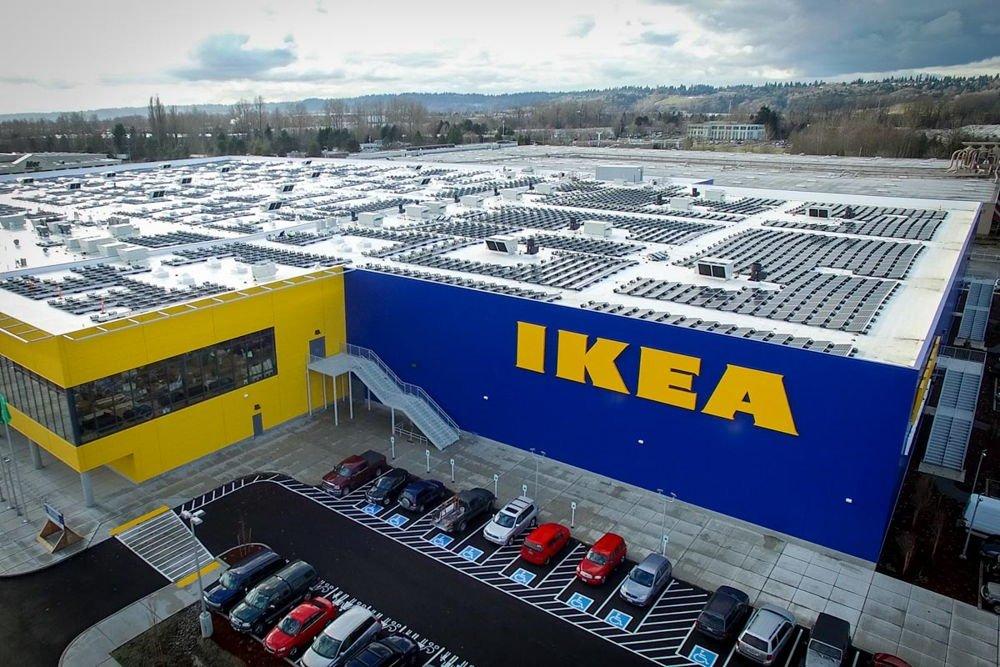 Ikea completa la mayor instalaci n solar en azotea de for Ikea tukwila wa