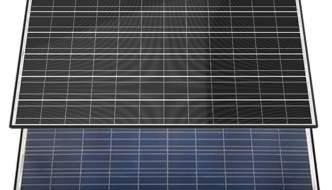 Un nuevo panel solar que capta energía por sus dos caras aumenta un 25% la capacidad de generación energética