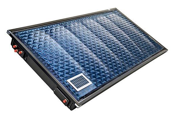 Oksol calentador solar térmico compacto