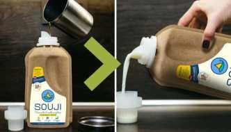 SOUJI, convierte tu aceite de cocina usado en detergente líquido