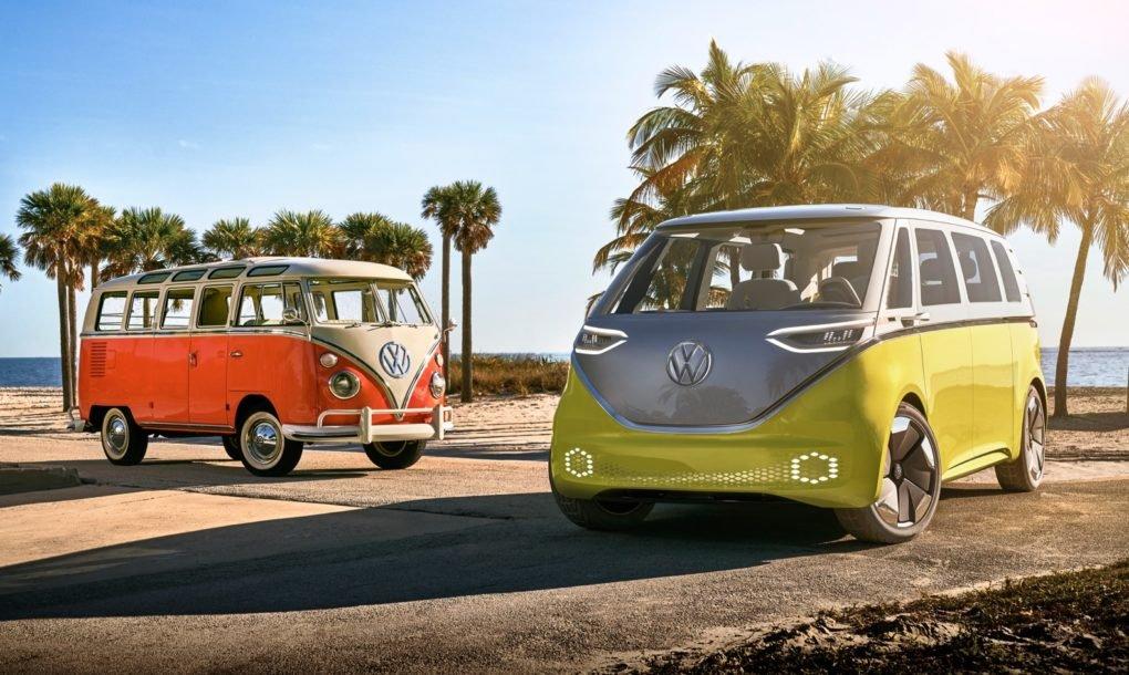 microbús eléctrico de Volkswagen