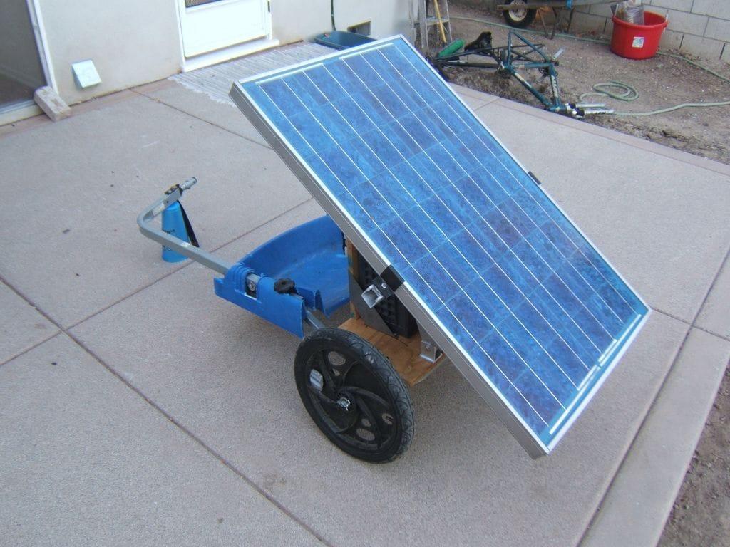 Generador solar móvil