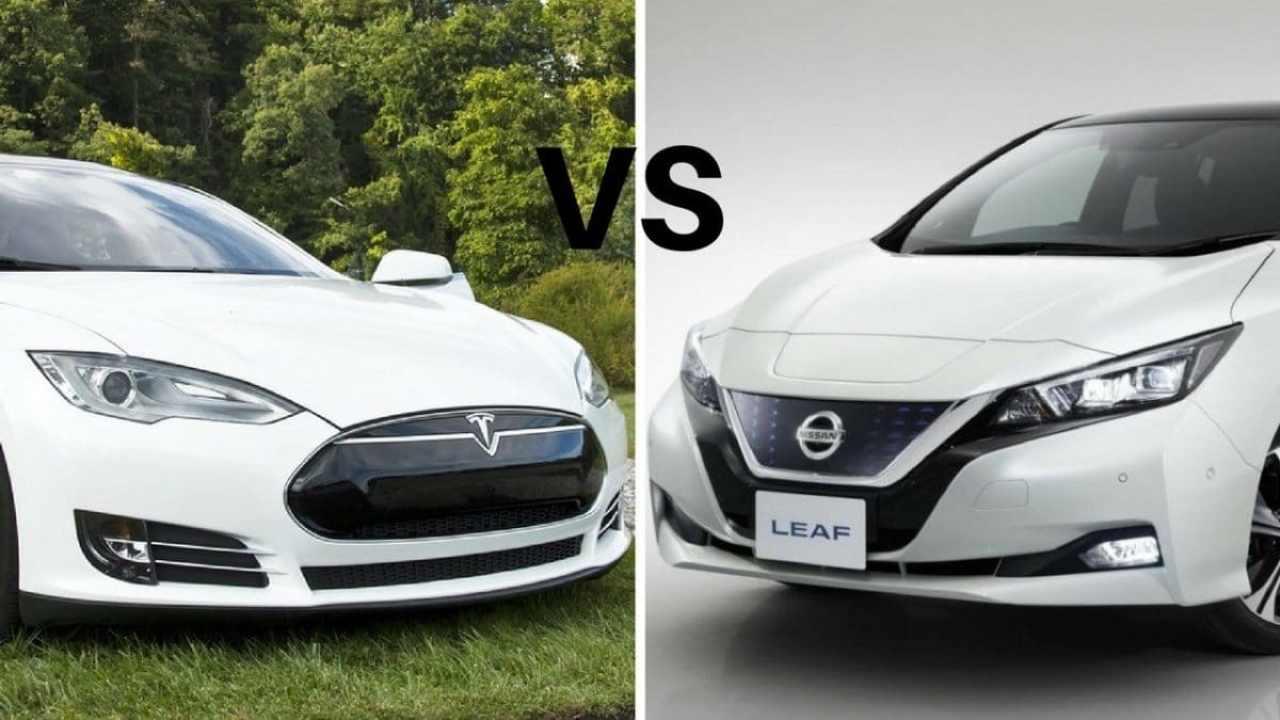 Nissan Leaf 2018 vs Tesla Model 3