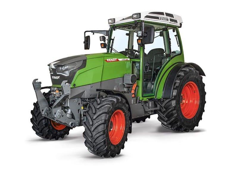 e100 Vario; primer tractor eléctrico compacto