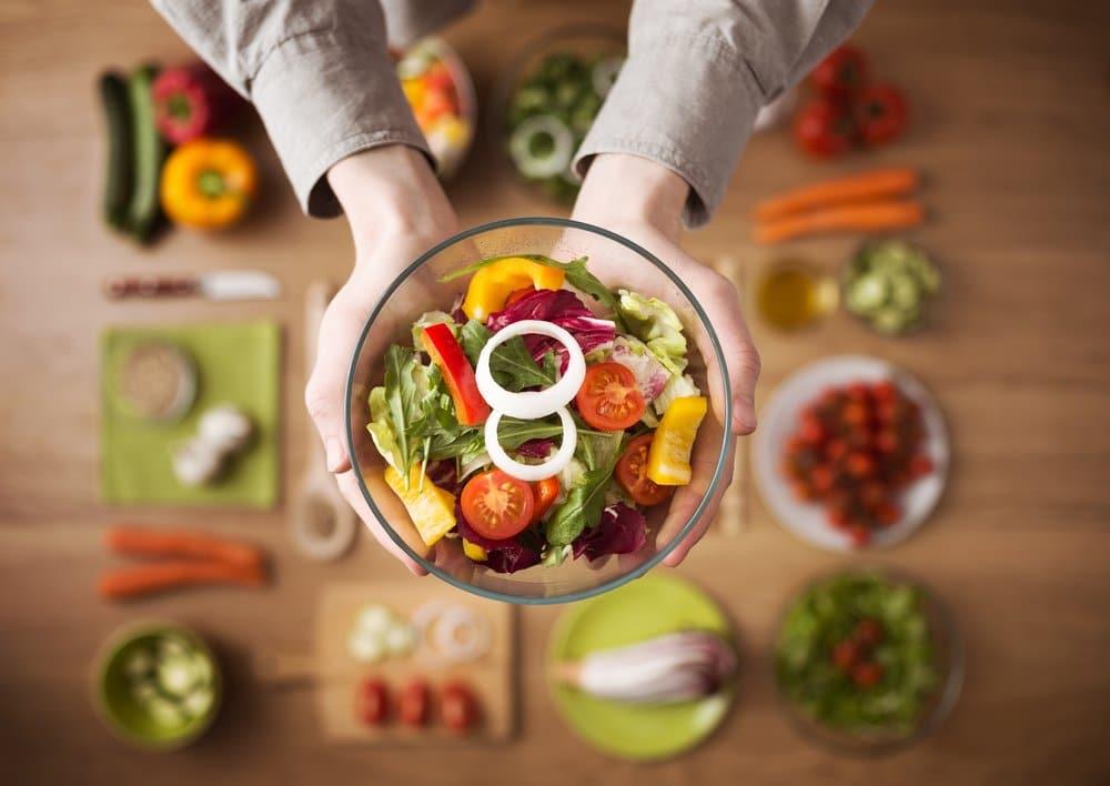Ensaladas para una dieta sana