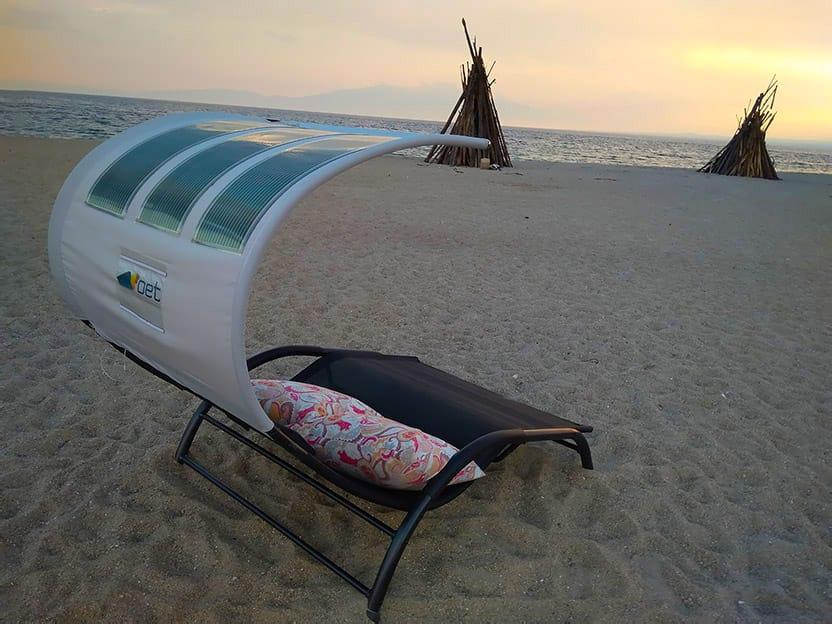 Tumbona solar