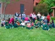 Visitantes de la Escuela de Educación Especial Luz Alou de Torres Manzo.