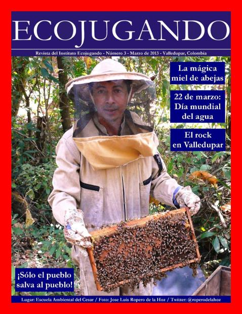 Albeiro Muñoz, apicultor.