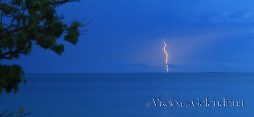 Rayo en el Caribe