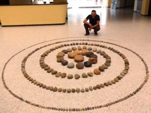 Espiral del Silencio - Land Art por Eduardo Butrón