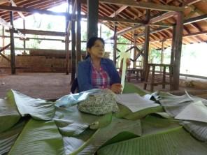 Doña Beatriz Rico, experta en agricultura orgánica.