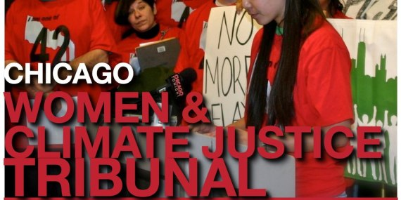 Stand with Women in Chicago Area affected by Coal