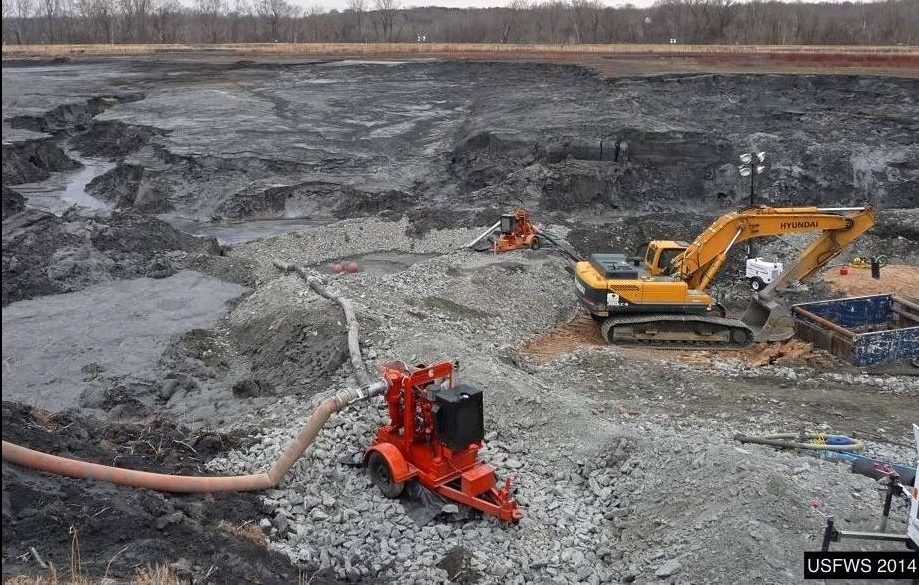 A coal ash spill would be devastating for the river, tourism, and Danville's riverfront project