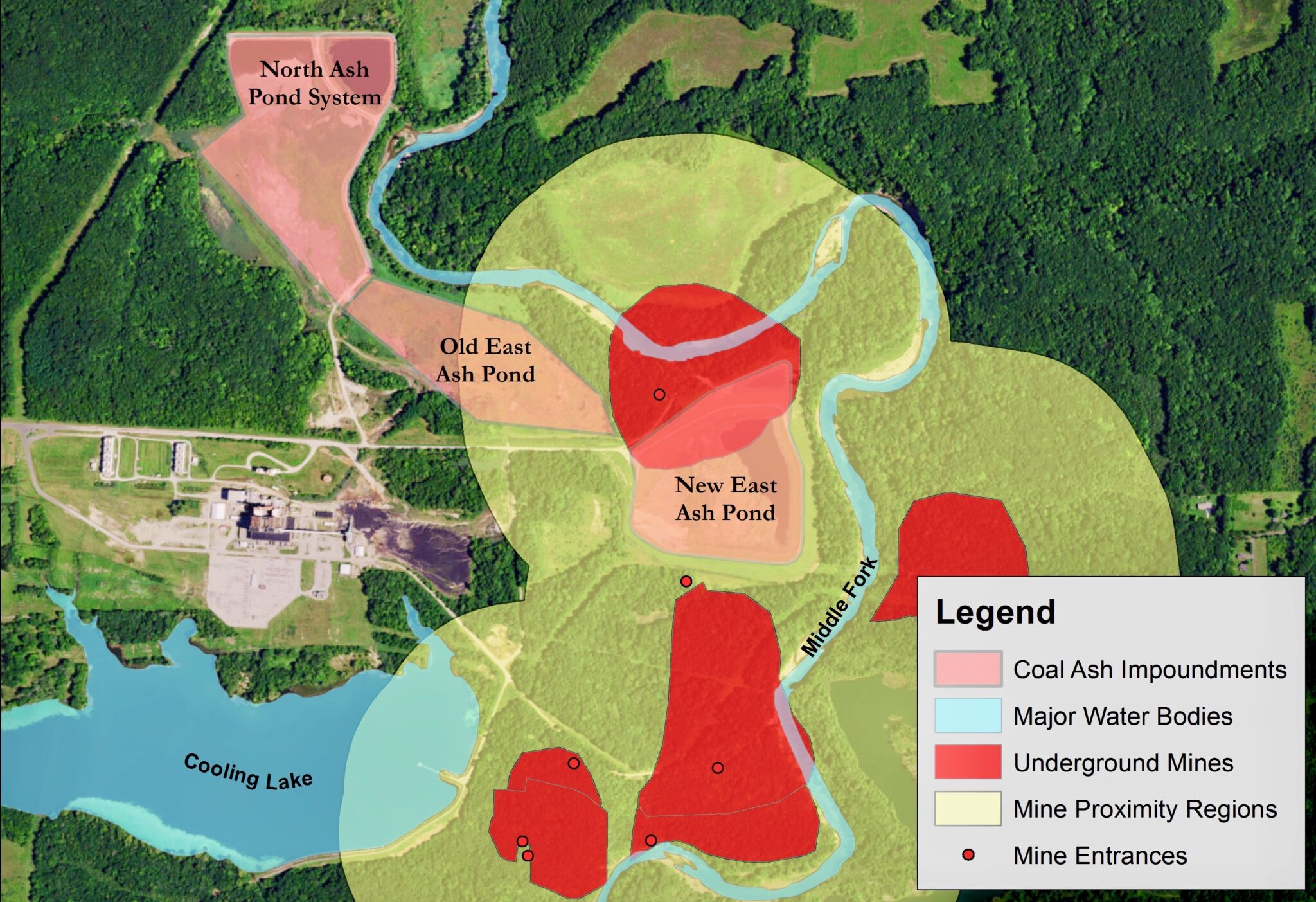 coal ash on the middle fork faqs eco justice collaborative