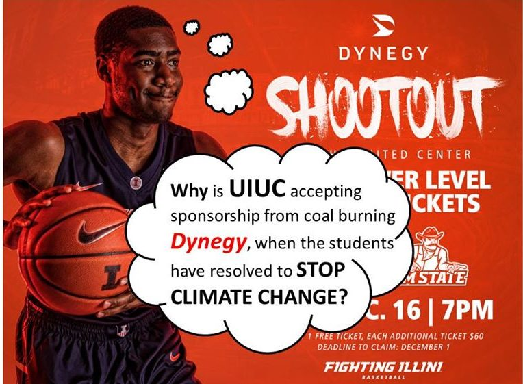 U of I Allows Dynegy Sponsorship