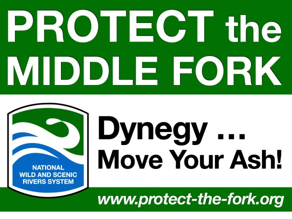 Protect the Middle Fork Yard Sign