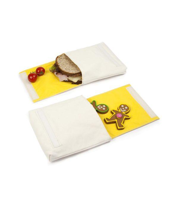 Snackpose i økologisk bomuld