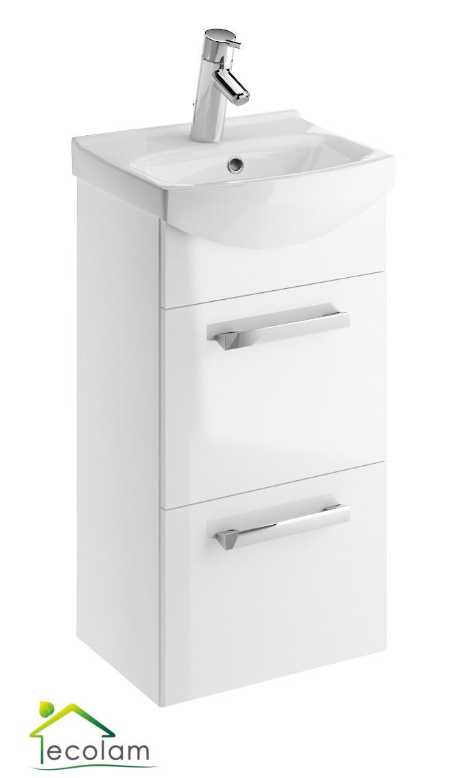 Gut gemocht Waschbeckenunterschrank Schmal 40 Cm | Schmales Waschbecken Mit GM16