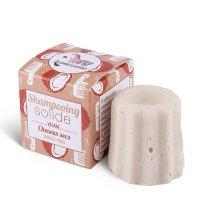 Shampoo solido lamazuna per capelli asciutti, alla vaniglia e cocco