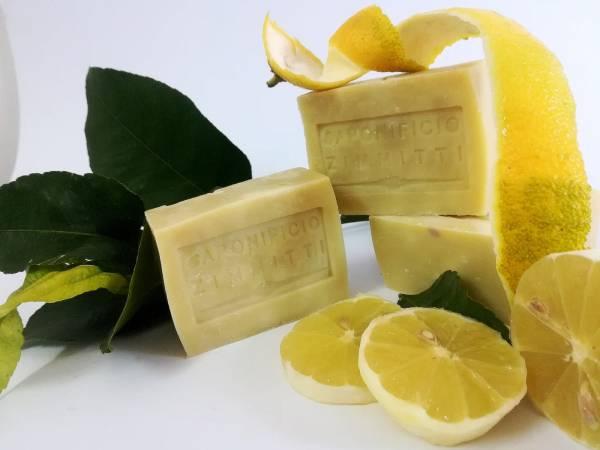 """Sapone naturale al limone e all'olio d'oliva """"Zimitti"""""""