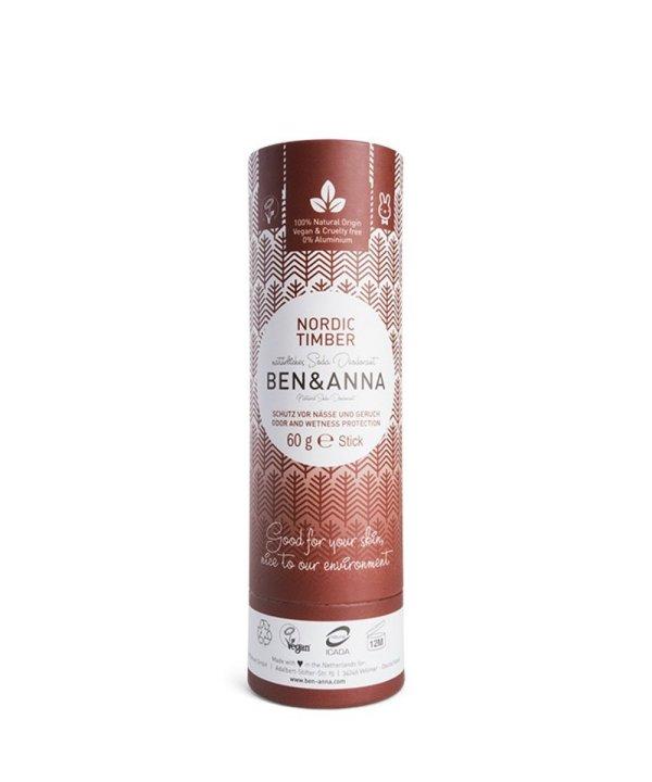 "Deodorante naturale per ascelle in stick ""Nordic Timber"""
