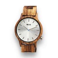 """Orologio in legno ecologico da polso, """"M35"""""""
