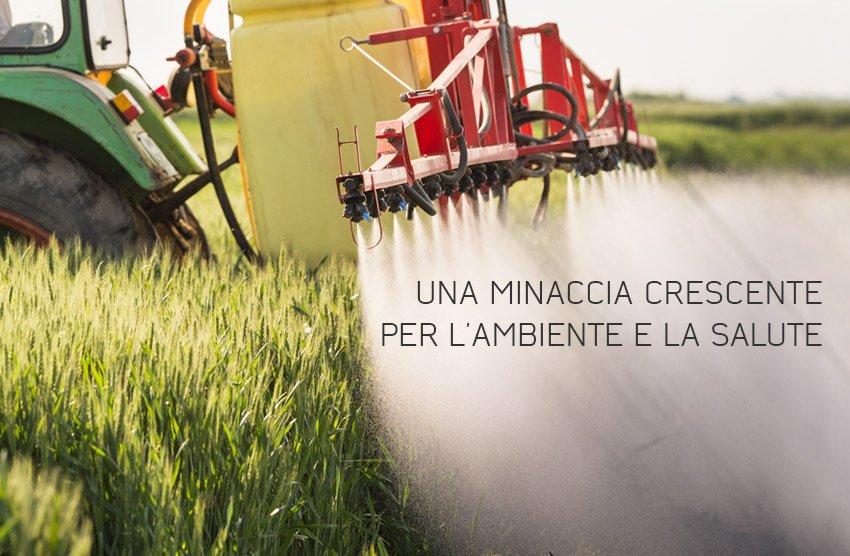 L'inquinamento agricolo è una minaccia seria.