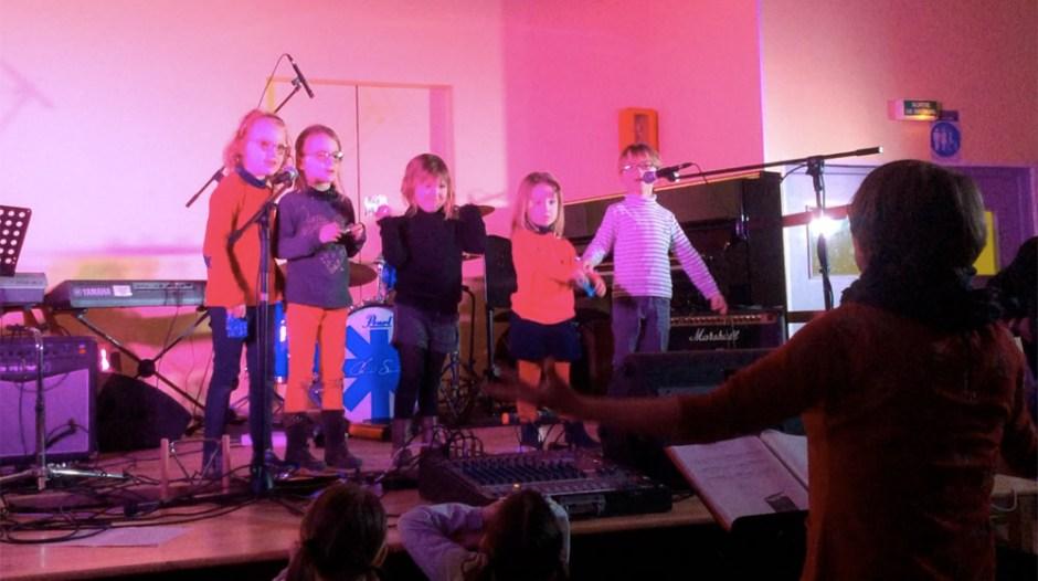 Atelier d'éveil musical en concert