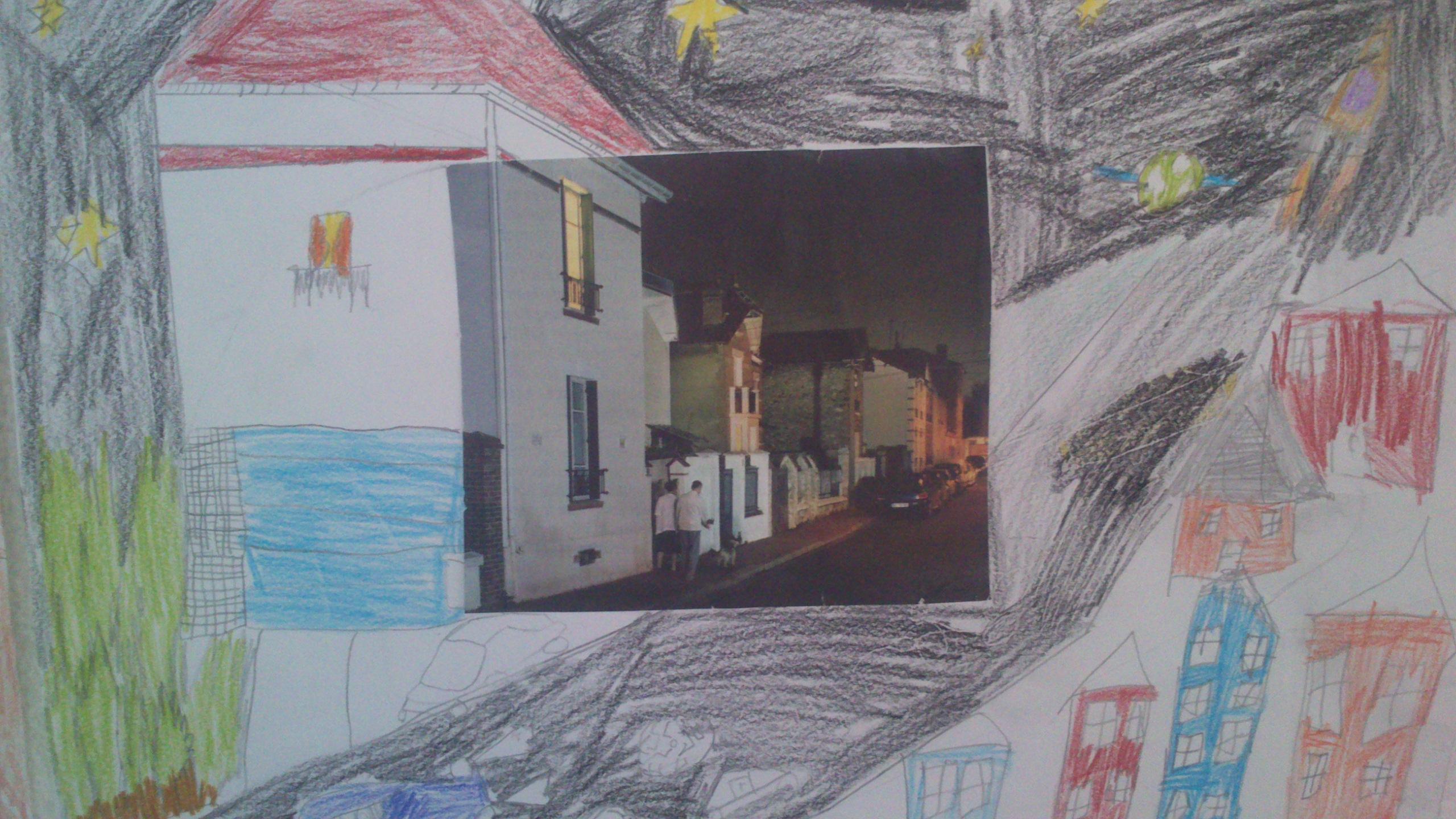 Art visuel prolonger un paysage