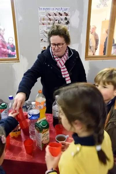 Le stand boissons du marché de Noël 2018 de l'école Notre Dame de l'Espérance
