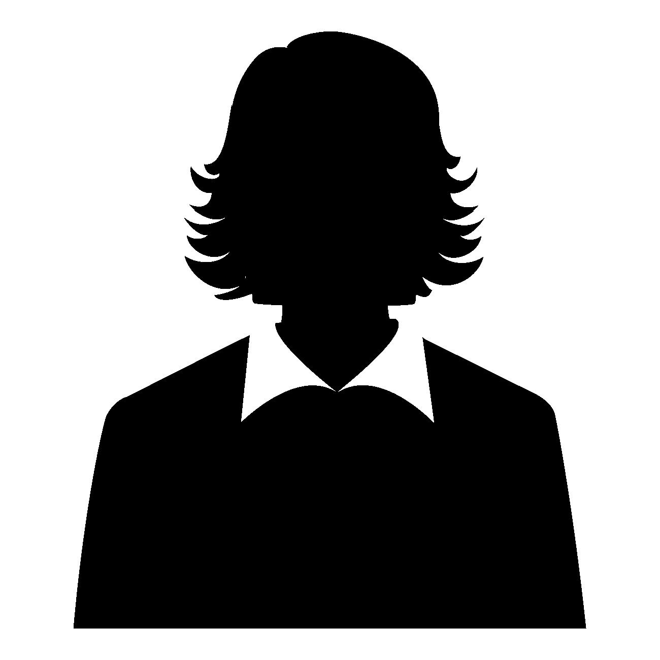 Avatar représentant une femme en chemisier