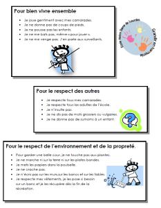 règlement enfants 2015-2016