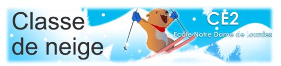 Logo classe de neige